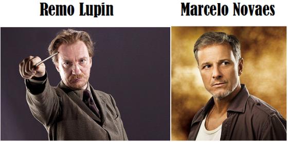 Personagens de Harry Potter com Atores Brasileiros