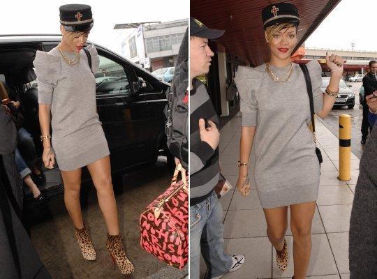 Rihanna look Ombreiras