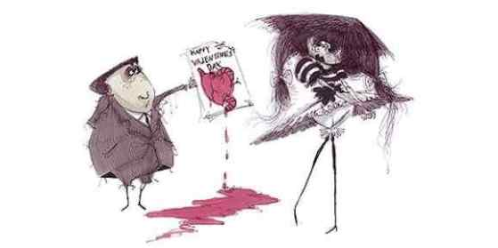 Offering a Valentine, Tim Burton (1980-1986)
